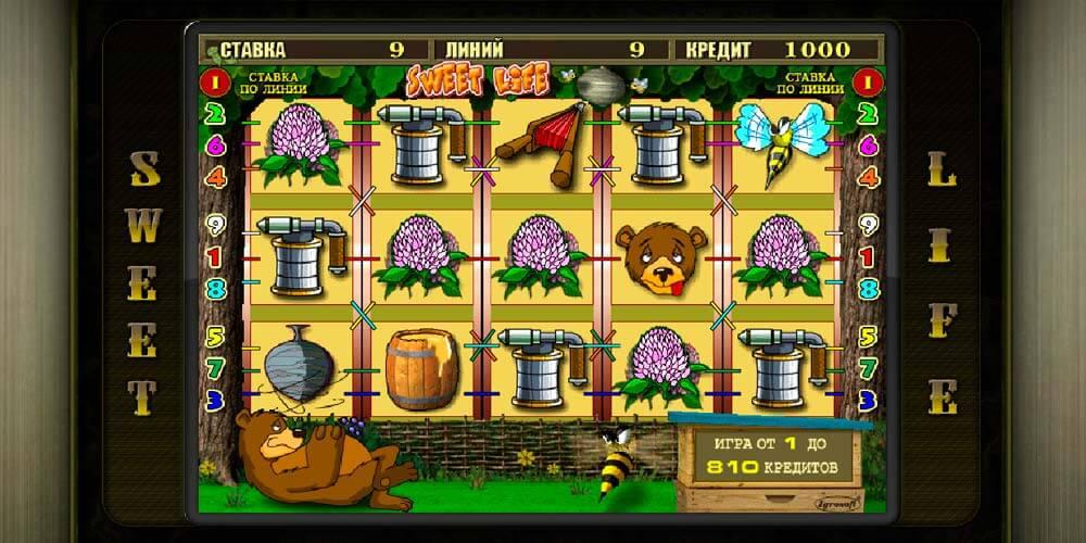 игровой автомат Sweet Life.Нехитрый сюжет, заложенный в игровой автомат Sweet Life, основывается на извечном неутихающем противоборстве пчел и .Челябинск